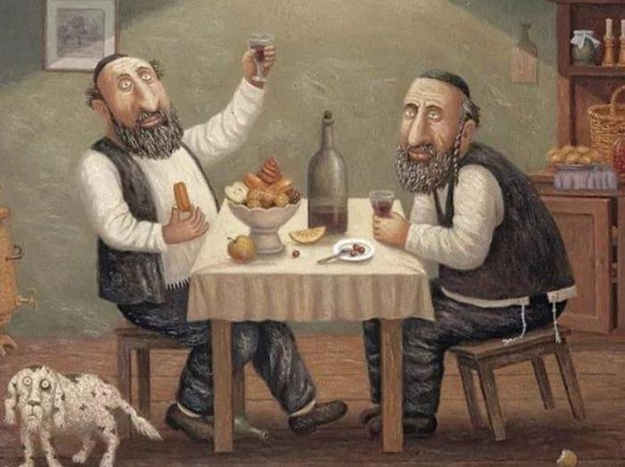 Один еврей жалуется другому …