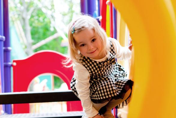 Реальные разборки на детской площадке